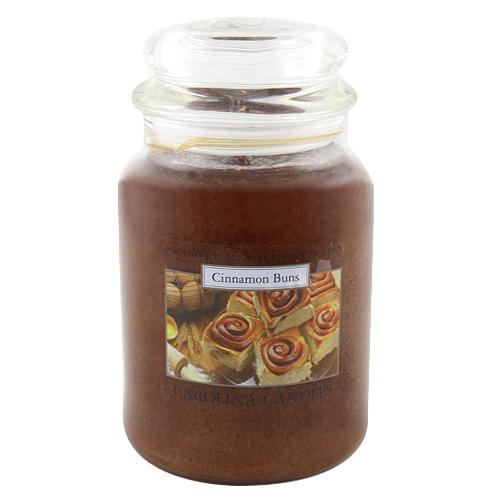 Svíčka skleněná dóza Carolina Candles Skořicové houstičky, 623 g