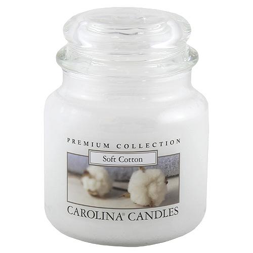 Svíčka skleněná dóza Carolina Candles Měkká bavlna, 425 g