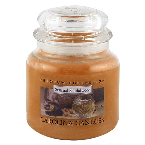 Svíčka skleněná dóza Carolina Candles Santálové dřevo, 425 g