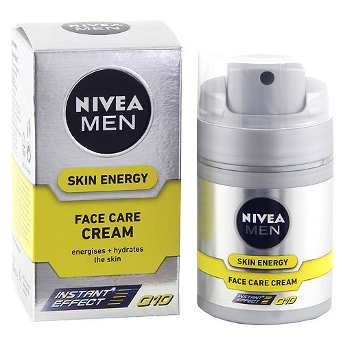 Pleťový krém pro muže Nivea Skin Energy Q10, 50 ml