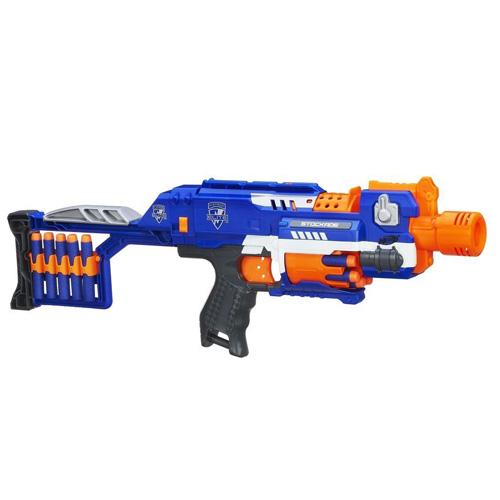 Pistole Hasbro Nerf N-Strike Elite Stockade, 10 šipek