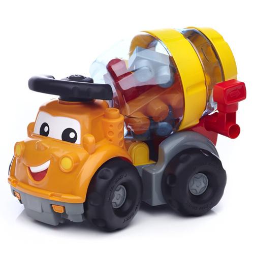 Mattel Míchačka Mega Bloks Mike - autíčko s kostkami