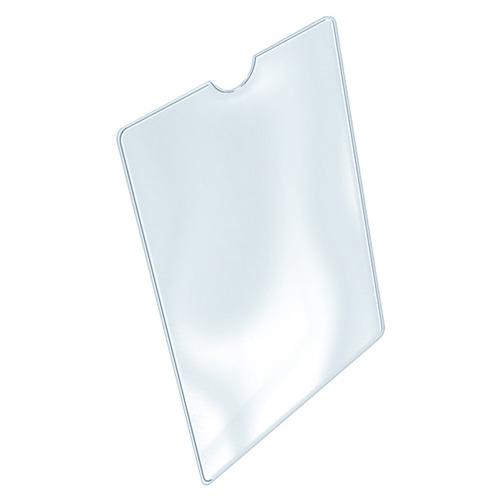 Pouzdro na doklady Idena 157 x 111 mm, transparentní