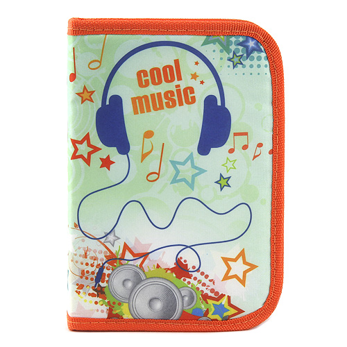 Školní penál s náplní Idena Cool music