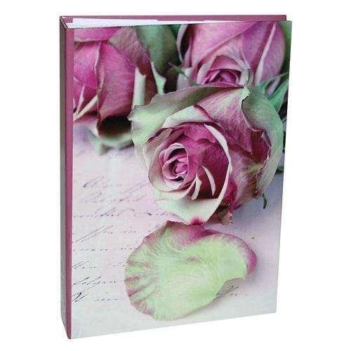 Fotoalbum Idena Motiv růží, 200 kapes, 10 x 15 cm