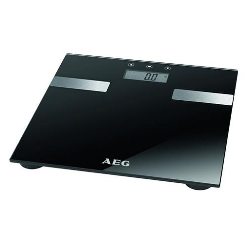 Osobní váha AEG PW 5644, multifunkční, sklo/nerez, BMI, LCD, do 180kg