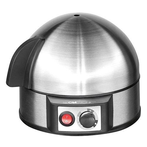 Clatronic EK 3321,vařič na 7 vajec Nerez,regulace,Acoustic s