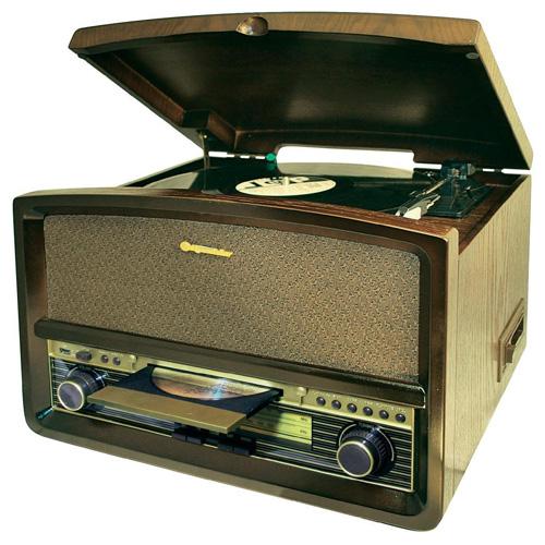 Retro gramofon Roadstar 7,25kg, retro