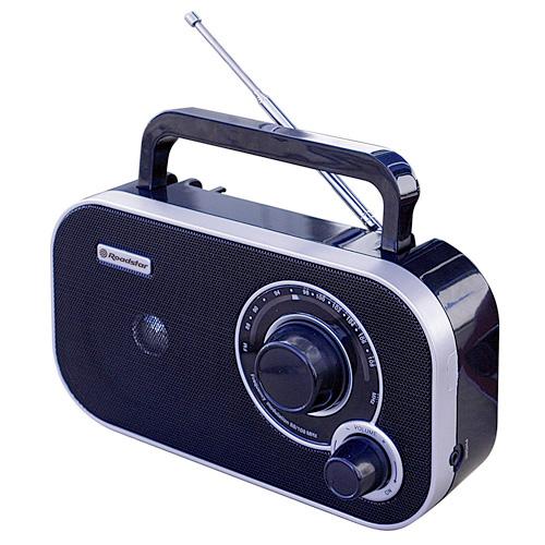 Roadstar PORTABLE  FM ANALOGIC RADIO, AC/DC