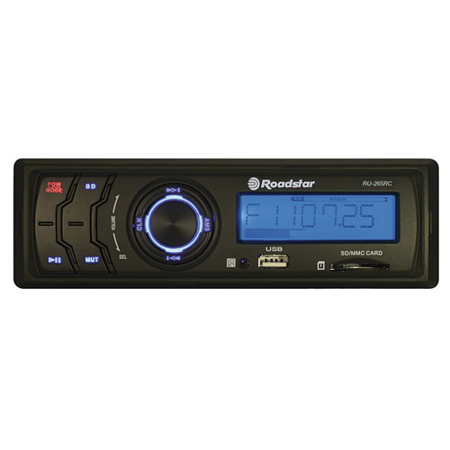 Roadstar NO MECHANISM CAR RADIO, FIXED PANEL, PLL FM RADIO WITH 18 ME