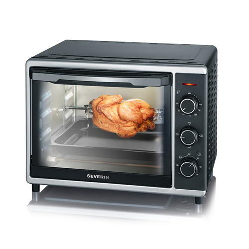 Severin Toast Oven with Hot Air Function, 1600 W, approx. 30 l