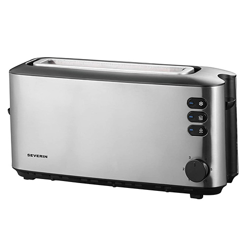 Severin Automatic Long slot toaster, approx. 1000 W, integrated bun