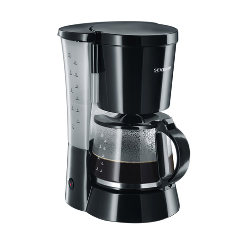 Severin Coffee Maker, approx. 800 W, up to10 cups, pivoted filter ho