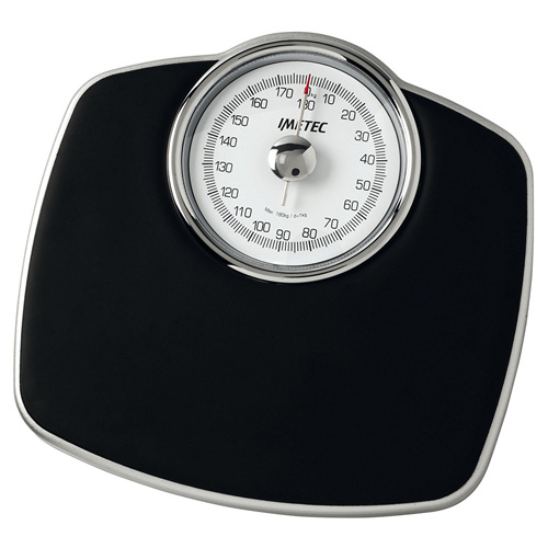 Osobní váha Imetec 5467 Medical Pro, mechanická, černá