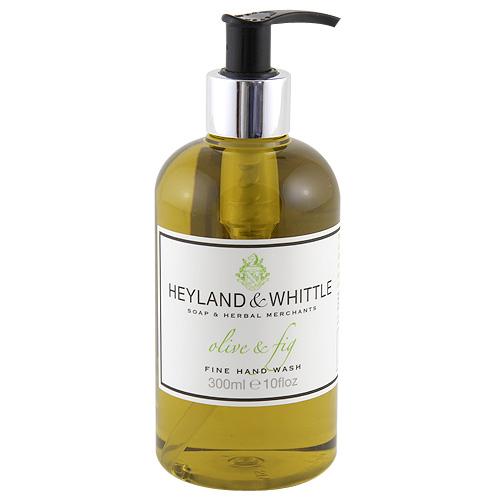 Tekuté mýdlo Heyland & Whittle Olivy a fíky, 300 ml