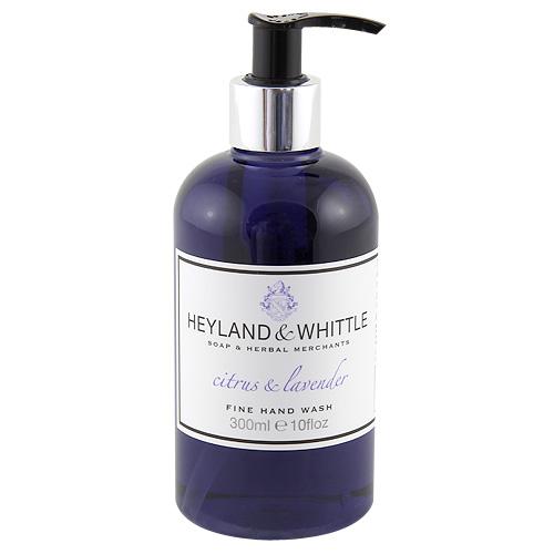 Tekuté mýdlo Heyland & Whittle Citrusy a levandule, 300 ml
