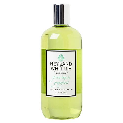 Pěna do koupele Heyland & Whittle Zelený čaj a grapefruit, 500 ml