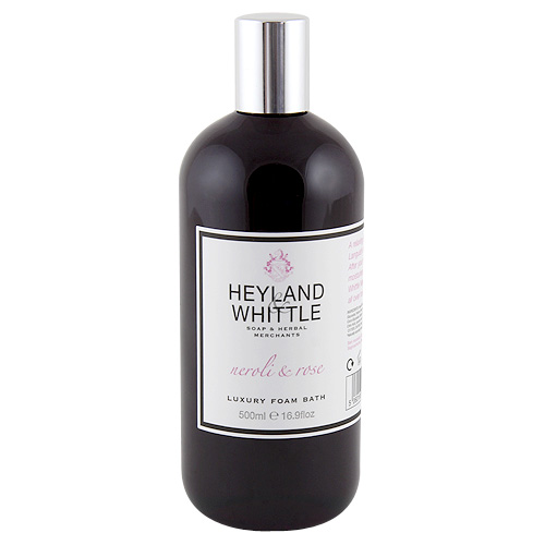 Pěna do koupele Heyland & Whittle Neroli a růže, 500 ml
