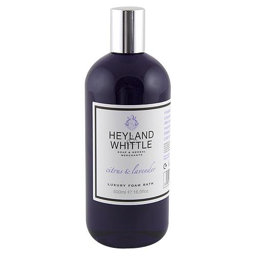 Pěna do koupele Heyland & Whittle Citrusy a levandule, 500 ml