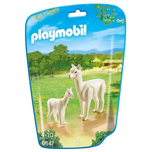 Alpaka Playmobil S mládětem