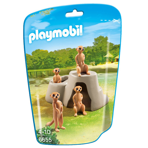 Surikaty Playmobil Zoo