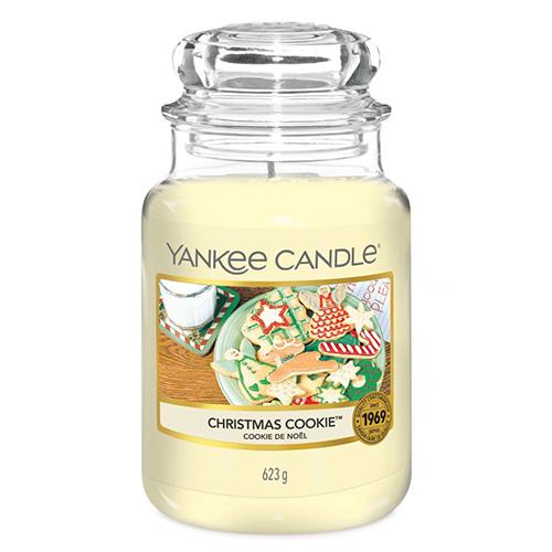Svíčka ve skleněné dóze Yankee Candle Vánoční cukroví, 623 g