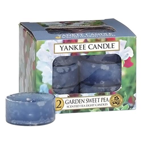 Svíčky čajové Yankee Candle Květy ze zahrádky, 12 ks