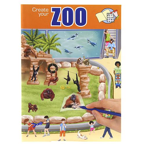 Omalovánky, kreativní sada Create Your ASST Zoo