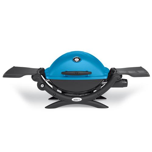 Plynový gril Q 1200 Weber Q 1200, modrý
