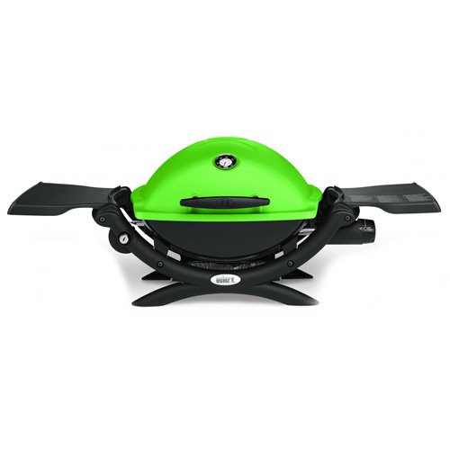 Plynový gril Q 1200 Weber Q 1200, zelený