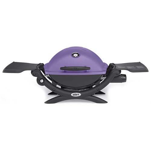 Plynový gril Q 1200 Weber Q 1200, fialový