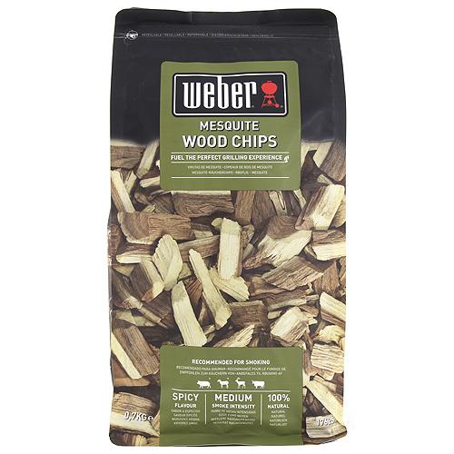 Udící lupínky Weber Mesquite, dřevěné, 700g