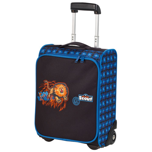 Kufřík na kolečkách Scout lev