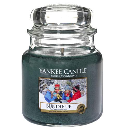 Svíčka ve skleněné dóze Yankee Candle Nabalte se, 410 g