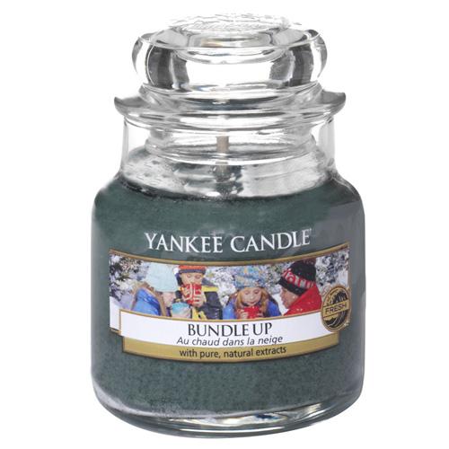 Svíčka ve skleněné dóze Yankee Candle Nabalte se, 104 g