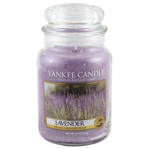 Svíčka ve skleněné dóze Yankee Candle Levandule, 623 g
