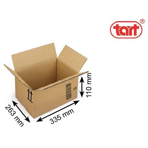 Obaly Karton S Rozměry: 335 x 263 x 110 mm, 3-vrstvá VL