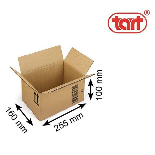 Obaly Karton XS Rozměry: 255 x 160 x 100 mm, 3-vrstvá VL
