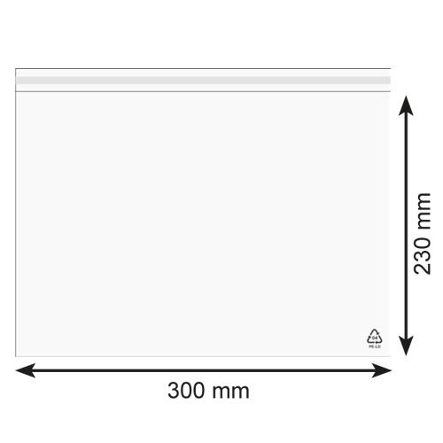 Obaly Kapsa na dokumenty A4 Rozměry: 300 x 230 mm