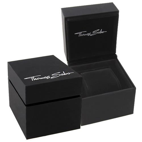 Thomas Sabo POS   BOX 74-BL 99 x 99 x 99 mm - dárková krabička pro náramkové hodinky, če