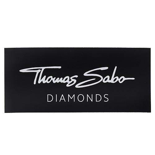 POS | Decoration | Magnetic foil Thomas Sabo Diamonds for DK reklamní štítek Diamonds, rozměry: 89 x 39 mm