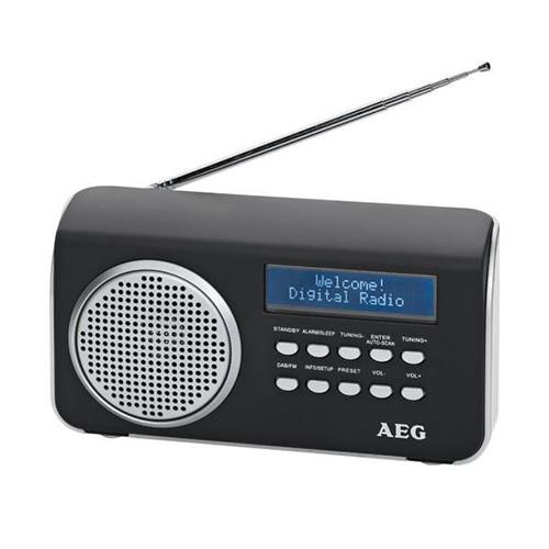 Rádio AEG DAB 4130, DAB+, FM RDS, alarm, AUX