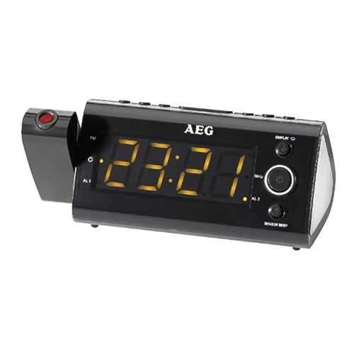 Rádiobudík AEG MRC 4121 P, Sensor, černý