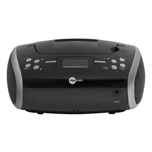 MP man PORTABLE CD RADIO WITH PLL FM TUNER, AUX IN