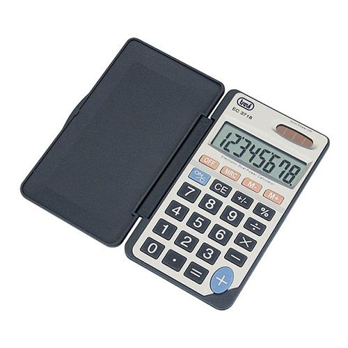 Trevi EC 3718 Pocket Calculator Silver