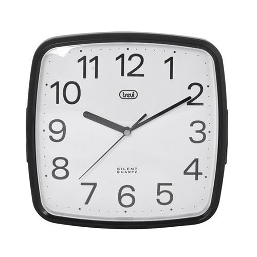 Nástěnné hodiny Trevi OM 3305, 24 x 24 cm, černé
