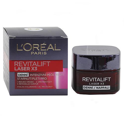 L'Oréal Paris Omlazující krém Revitalift Laser X3 Loreal Omlazující krém Revitalift Laser X3 50 ml
