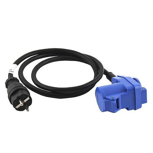 Kabel s redukcí PSSO 250V, 16A, 3 x 2,5 mm2, 1,5m