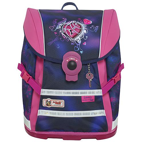 Školní batoh Mc Neill Srdce se zámečkem/ERGO Light MOVE