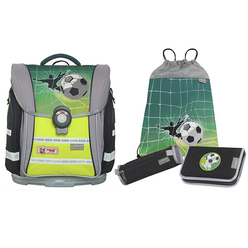 Školní souprava Mc Neill 4-dílná/fotbalista/ERGO Light COMPACT flex